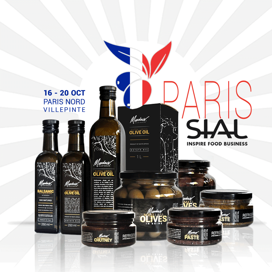 South African Olive Oil Paris SIAL