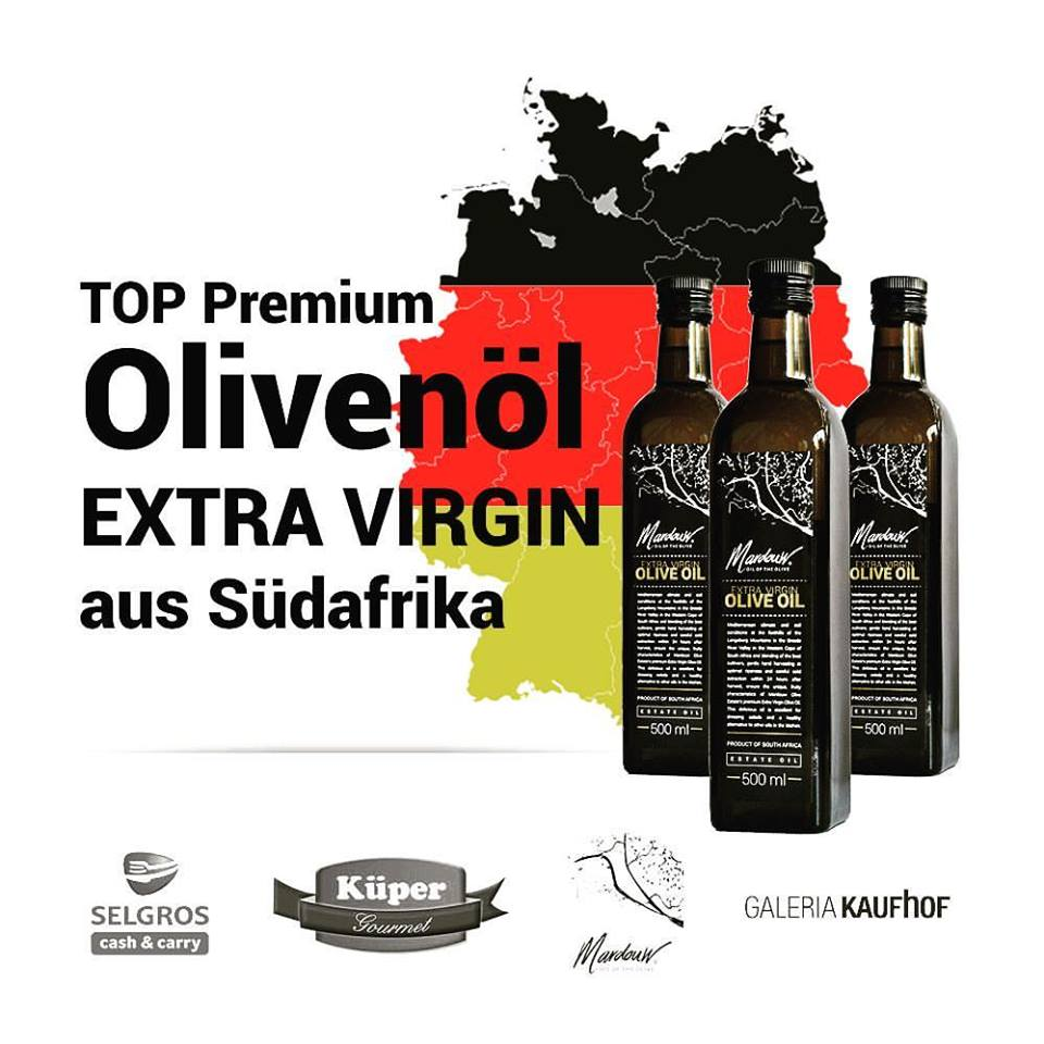 Olive Oil export Germany