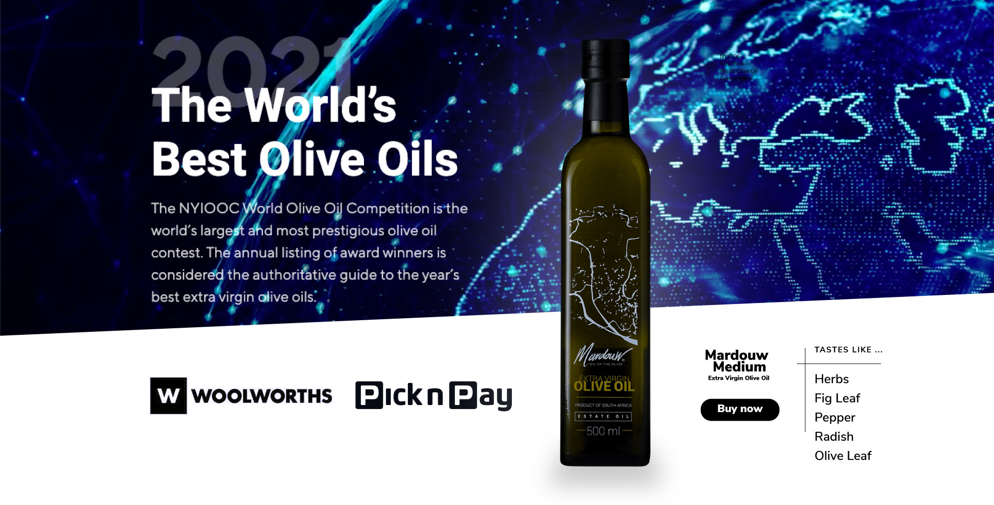 Best olive oil South Africa